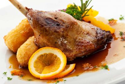 Traditional hungarian goose menu - Outlet Hotel
